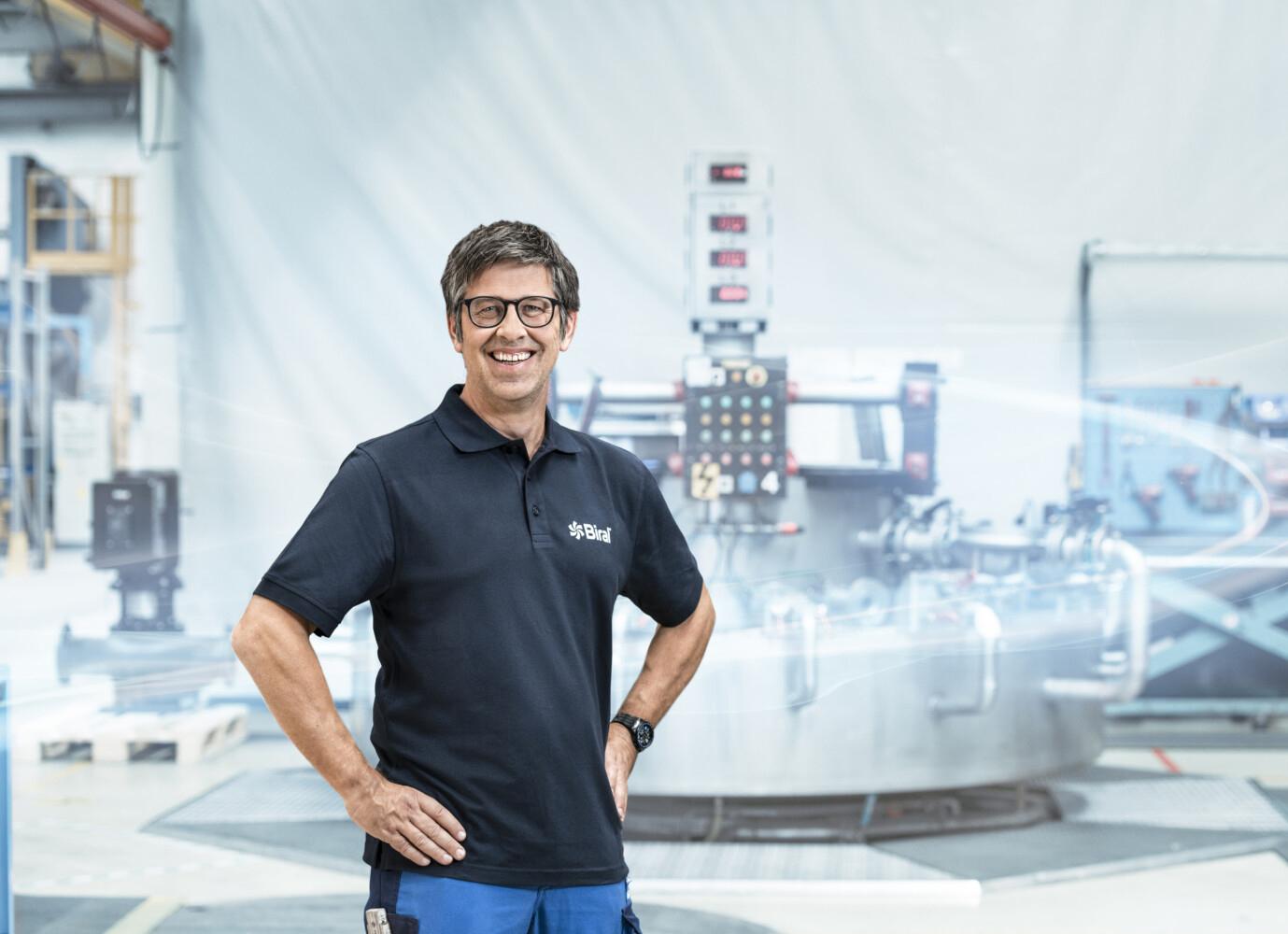 Melchior Zürcher, Production and Logistics Director